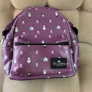 Disney Villains small backpack from Loungefly